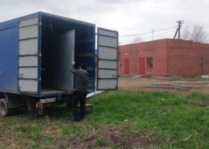 Грузовая перевозка гаража в Краснодаре